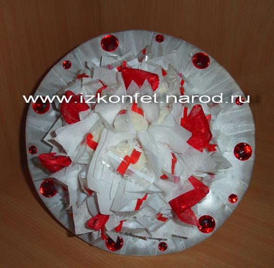 Букет из конфет рафаэлло своими руками мастер класс - Поделки
